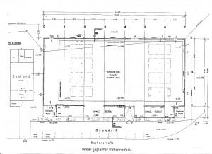 Stockhalle Grundriss